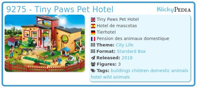 Playmobil 9275 - Tiny Paws Pet Hotel