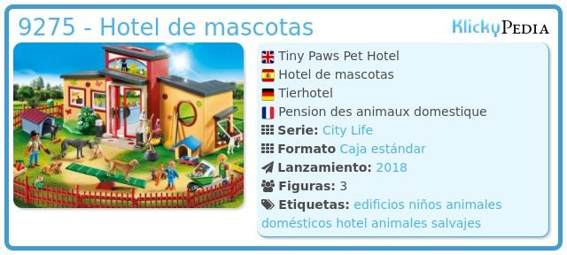 Playmobil 9275 - Hotel de mascotas