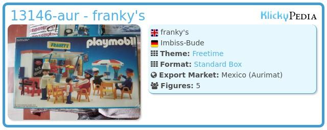Playmobil 13146-aur - franky's