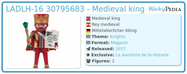 Playmobil LADLH-16 - Medieval king
