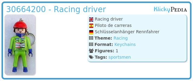 Playmobil 30664200 - Racing driver