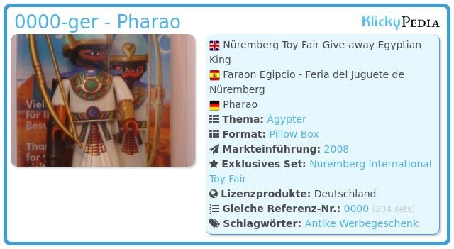Playmobil 0000-ger - Pharao