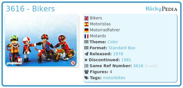 Playmobil 3616 - Bikers