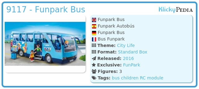 Playmobil 9117-ger - Funpark Bus