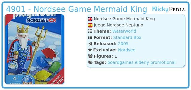 Playmobil 4901 - Nordsee Game Mermaid King