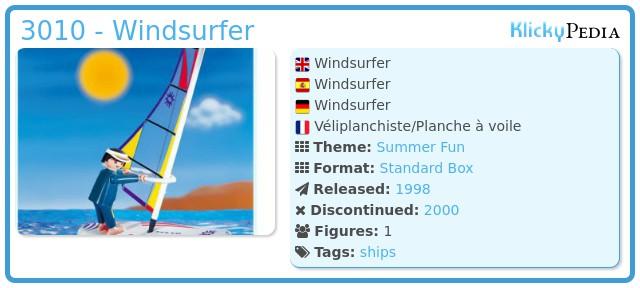 Playmobil 3010 - Windsurfer