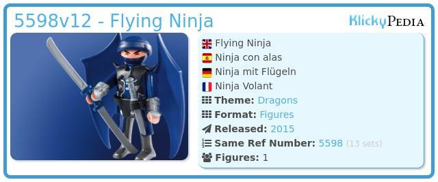 Playmobil 5598v12 - Flying Ninja