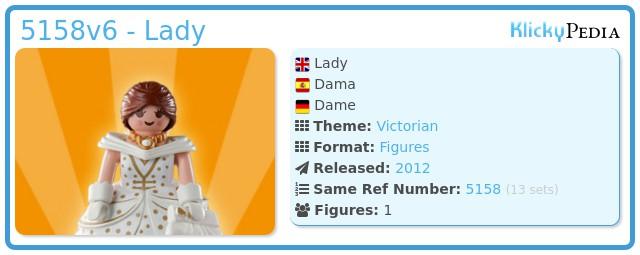 Playmobil 5158v6 - Lady