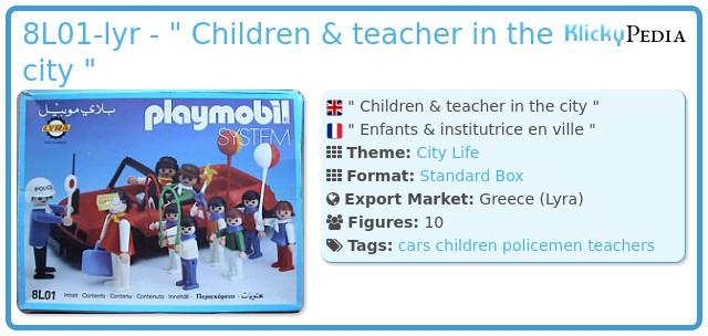 Playmobil 8L01-lyr -