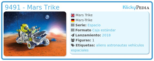 Playmobil 9491 - Mars Trike