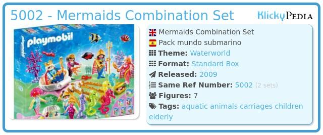 Playmobil 5002 - Mermaids Combination Set