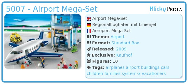 Playmobil 5007 - Airport Mega-Set
