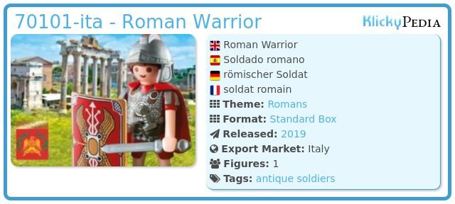 Playmobil 70101 - Roman Warrior