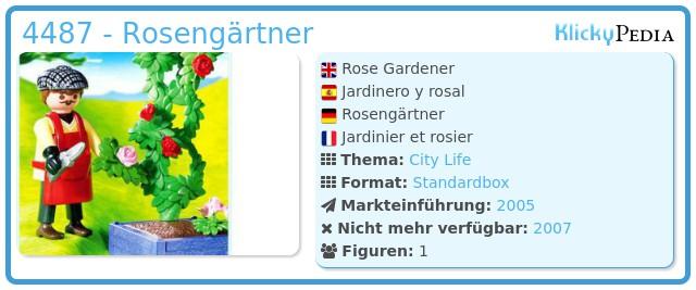 Playmobil 4487 - Rosengärtner