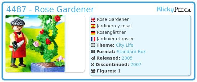 Playmobil 4487 - Rose Gardener