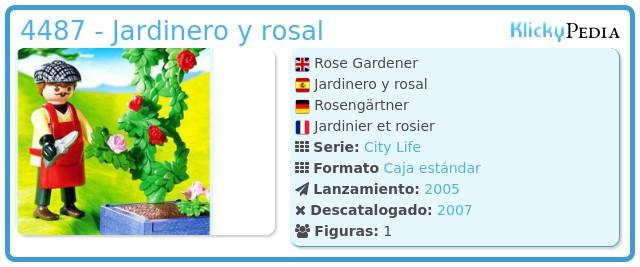 Playmobil 4487 - Jardinero y rosal