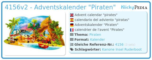 Playmobil 4156v2 - Adventskalender
