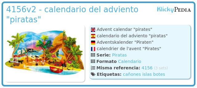 Playmobil 4156v2 - calendario del adviento