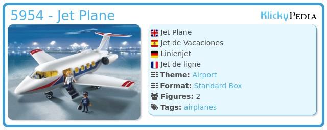 Playmobil 5954 - Jet Plane