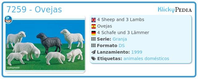 Playmobil 7259 - Ovejas