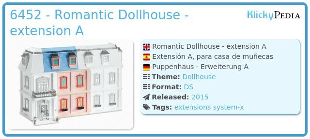 Playmobil 6452 - Romantic Dollhouse - extension A
