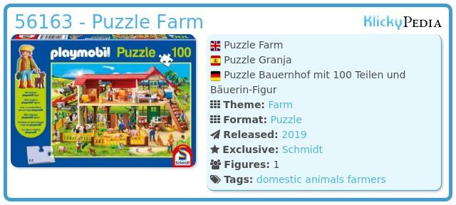 Playmobil 56163 - Puzzle Farm