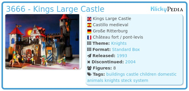 Playmobil 3666 - Kings Large Castle