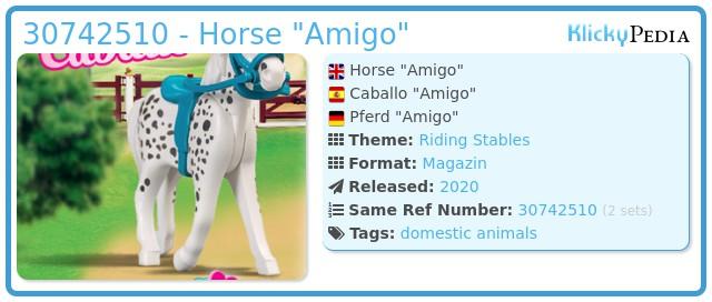 Playmobil 30742510 - Horse