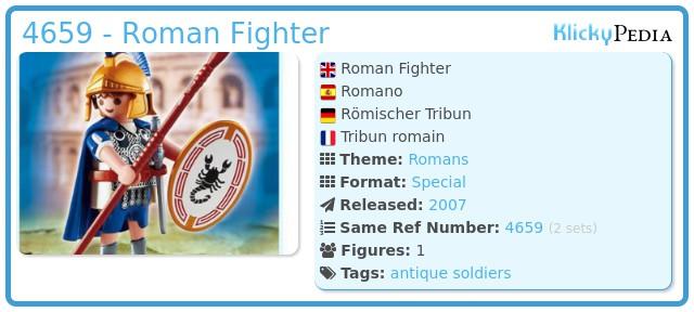 Playmobil 4659 - Roman Fighter