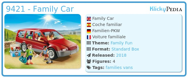 Playmobil 9421 - Family Van