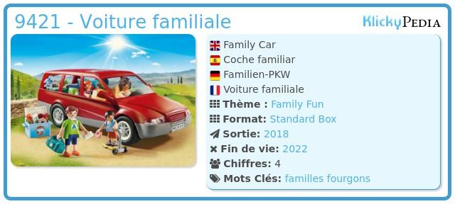 Playmobil 9421 - Voiture familiale