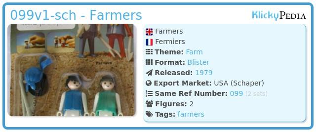 Playmobil 099v1-sch - Farmers
