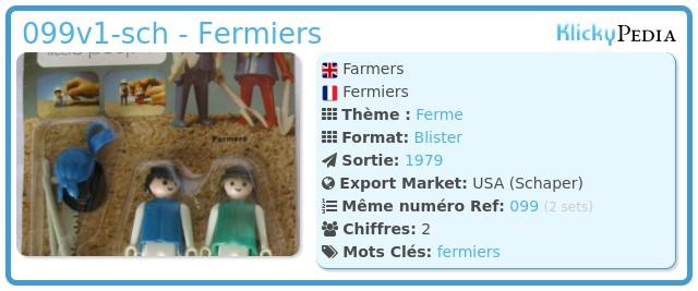Playmobil 099v1-sch - Fermiers