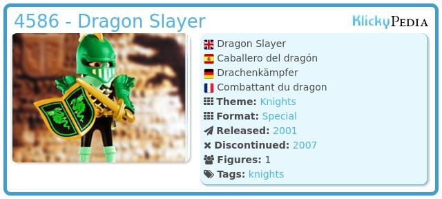 Playmobil 4586 - Dragon Slayer