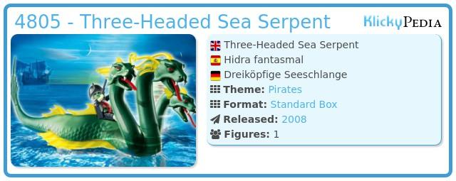 Playmobil 4805 - Three-Headed Sea Serpent