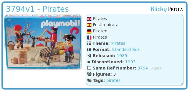 Playmobil 3794v1 - Pirates