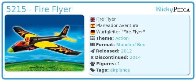 Playmobil 5215 - Fire Flyer