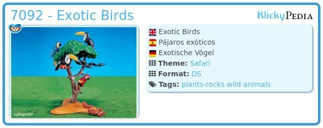 Playmobil 7092 - Exotic Birds