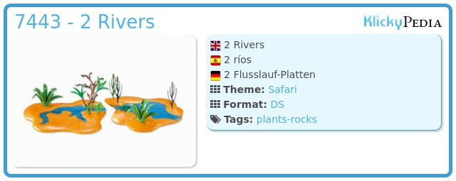 Playmobil 7443 - 2 Rivers
