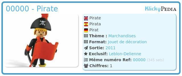 Playmobil 00000 - Pirate