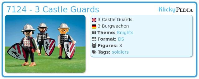 Playmobil 7124 - 3 Castle Guards