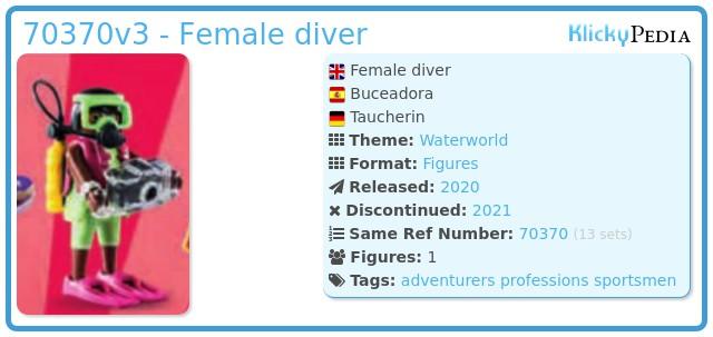 Playmobil 70370-03 - Diver
