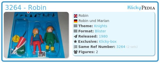 Playmobil 3264 - Robin