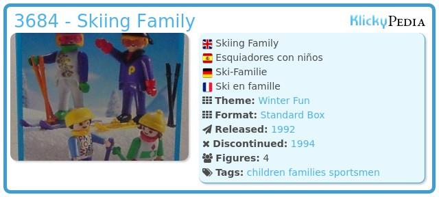 Playmobil 3684 - Skiing Family
