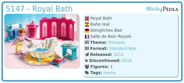 Playmobil 5147 - Royal Bath