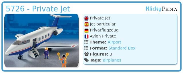 Playmobil 5726 - Private Jet