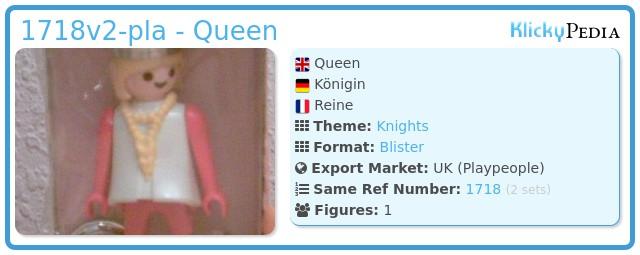 Playmobil 1718v2-pla - Queen