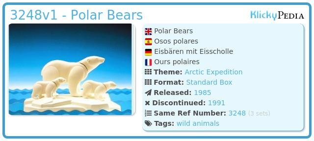 Playmobil 3248v1 - Polar Bears