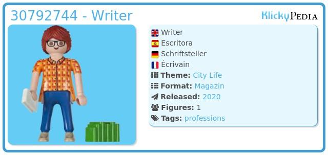 Playmobil 30792744 - Writer
