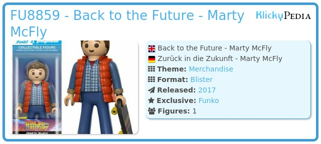 Playmobil FU8859 - Back to the Future - Marty McFly